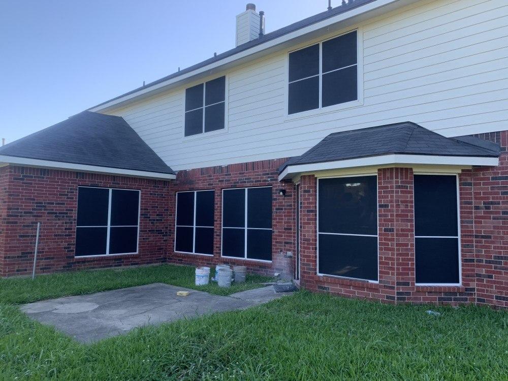 90% Black Phifer Suntex in Pearland, TX