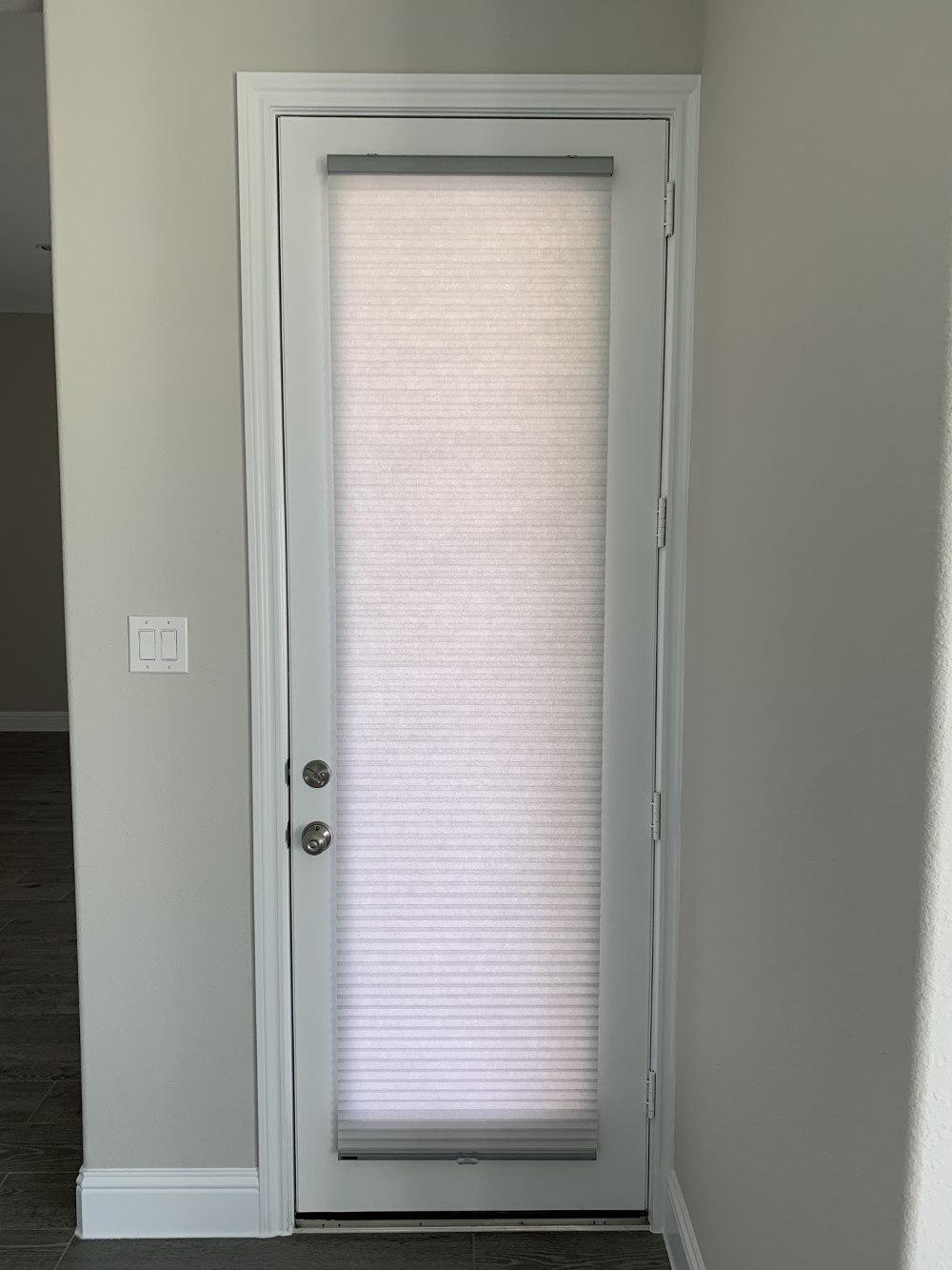 Cordless Cellular Shade Installation in Houston, TX
