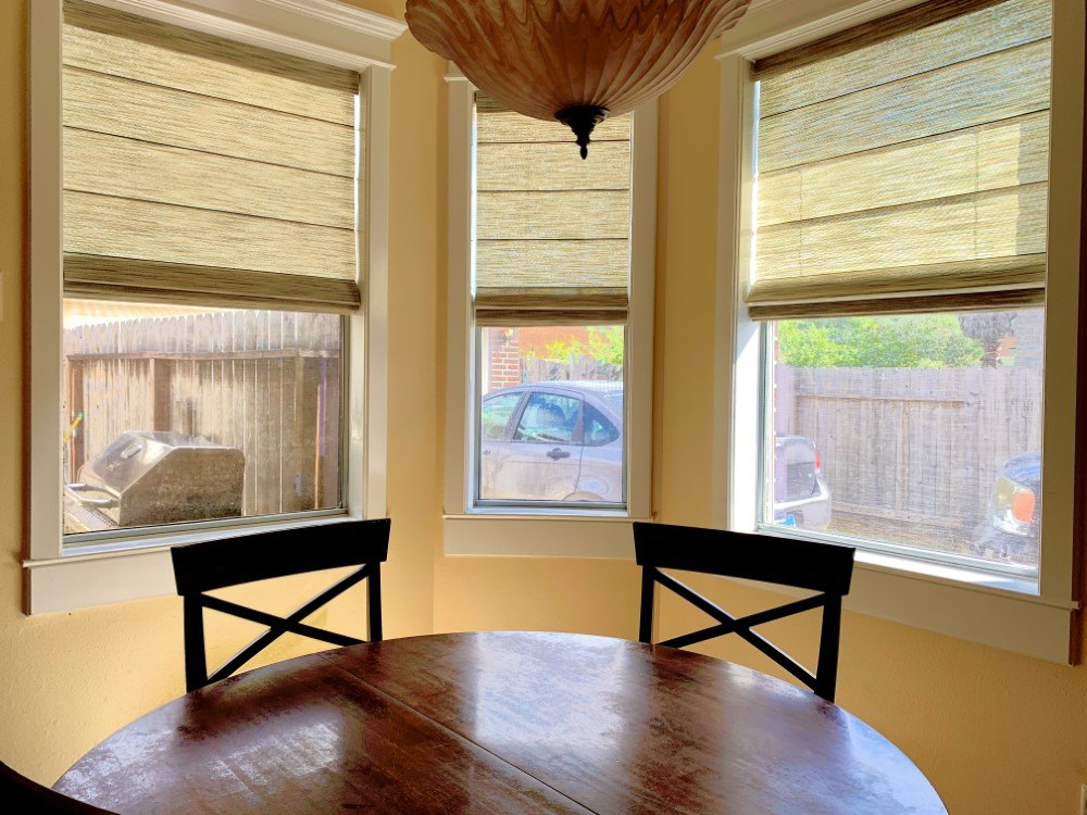 Cordless Roman Shades in Seabrook, TX