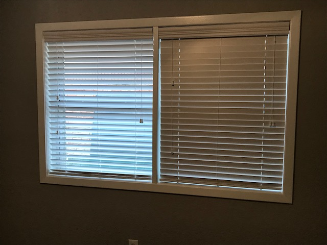 Faux Wood Blinds Installed in Dickinson, TX