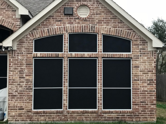 Solar Screens Installed in Friendswood, TX