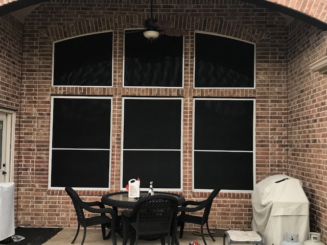 Solar Screens Installed in League City, TX