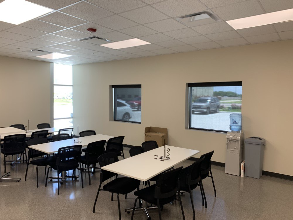 Interior Roller Shade-Commercial Project in Deer Park