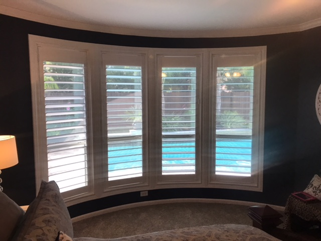 Plantation Shutters Installation on Somerset Landing Lane in League City, TX