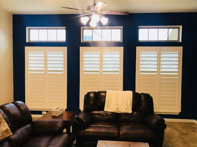 New Wood Shutters Installed in League City, TX