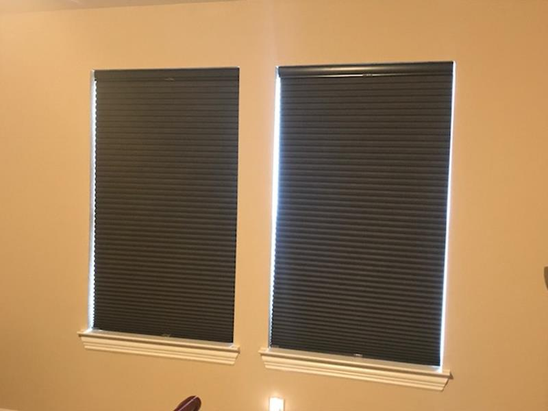 Norman Cellular Shades Installation in League City, TX