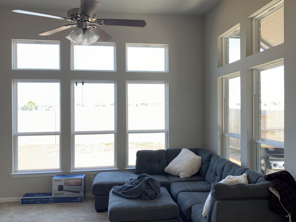 Norman Cordless Faux Wood Blinds in Texas City, TX