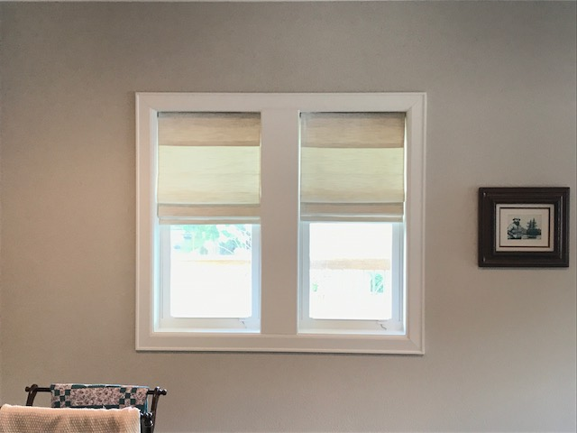 Norman Roman Shades Installation in Clear Lake Shores, TX