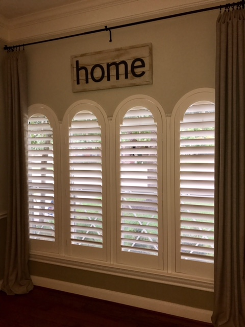 Norman Wood Shutter Installation in Pearland, TX