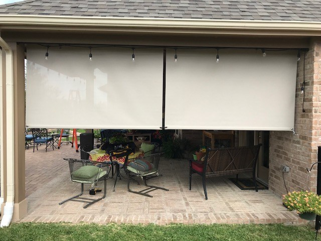 Roller Shades in Pearland, TX