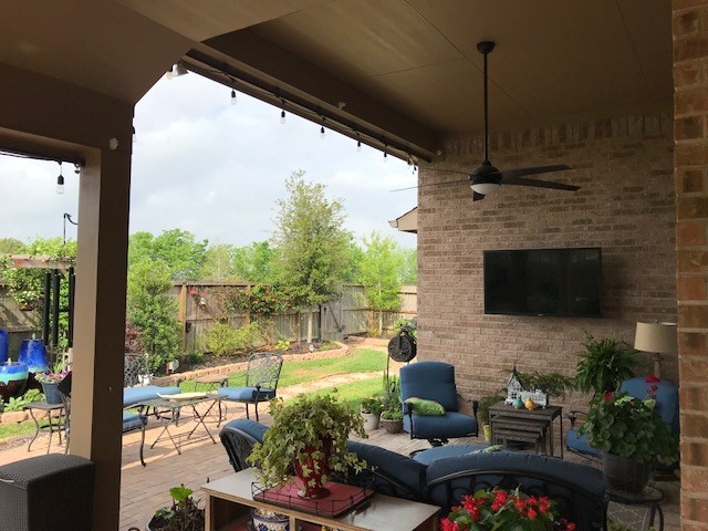 Roller Shades Installed In Pearland, TX