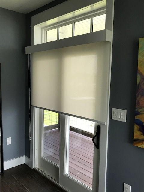 Roller Shades Installed In Kemah, TX