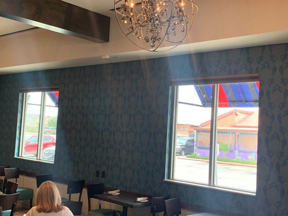 Room Darkening Motorized Cellular Shades in Webster, TX