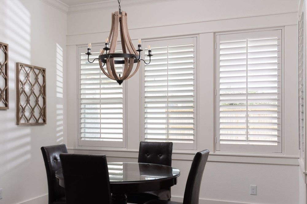 Sunland Polycore Plantation Shutters in League City, TX